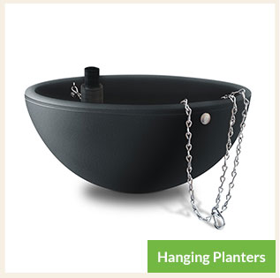 Hanging Planters for Public Spaces and Home