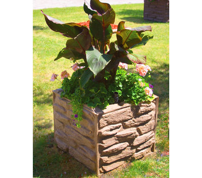 Sierra Stone Self Watering Planter at Equinox