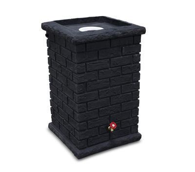 Brickworks Rainbarrel - Black