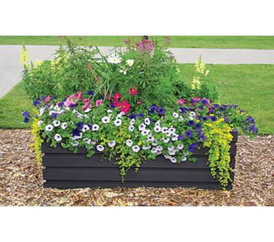 Vista self-watering planter location