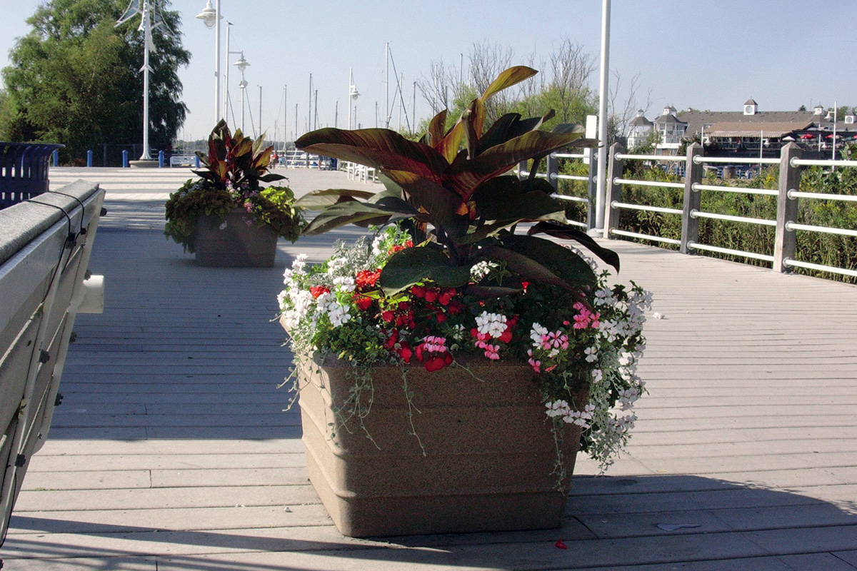 Boardwalk Self Watering Planter