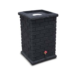 Brickworks Rain Barrel -Dark Grey Colour