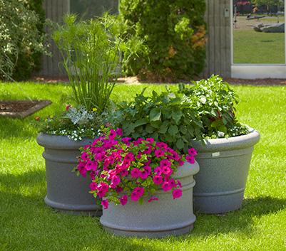Boulevard Self Watering Planter group- equinox