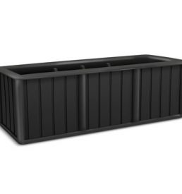 Promenade 75 Self Watering Planter - black