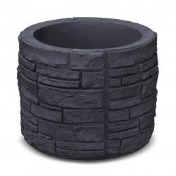 Sierra Stone Round - Black